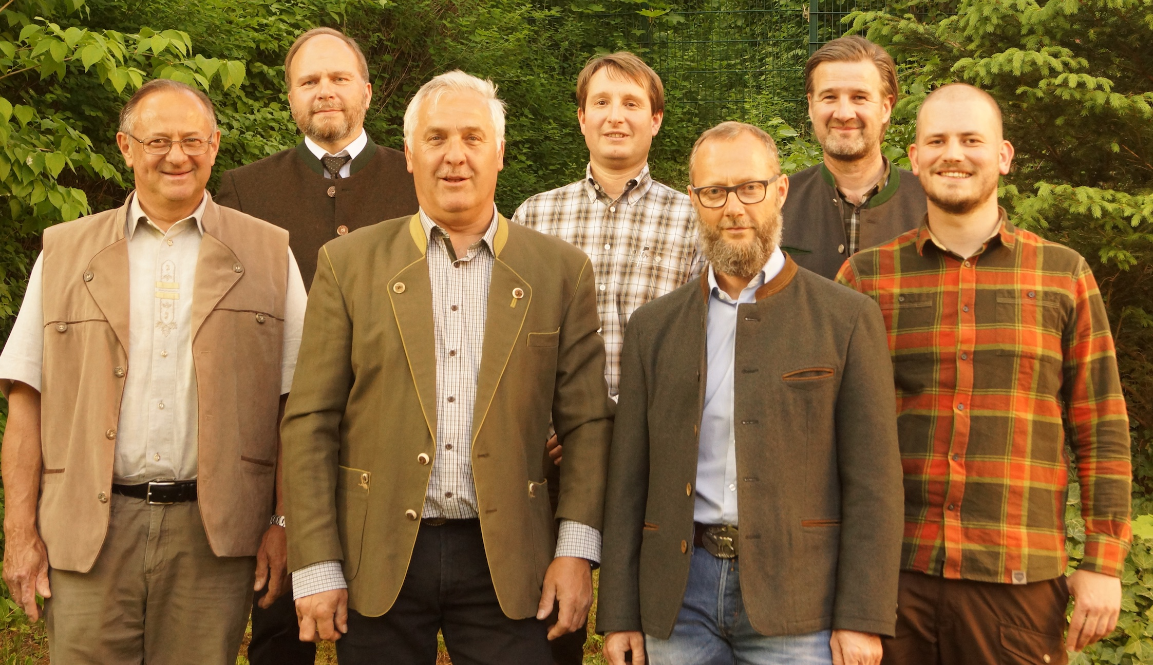 Vorstand der BJV Kreisgruppe Coburg